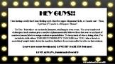 Class Jobs Marquee/Hollywood Theme