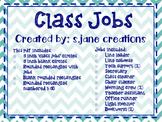 Class Jobs- Navy & Teal