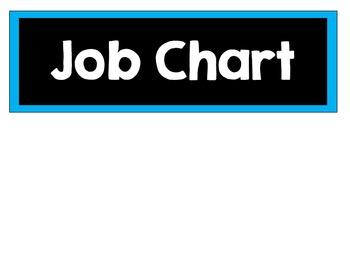 Class Jobs- Neon