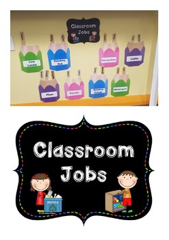 Class Jobs Pencil Display