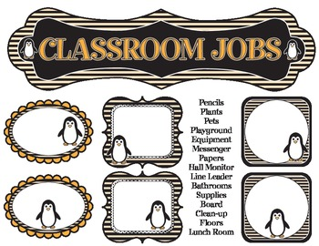 Class Jobs - Penguin Themed