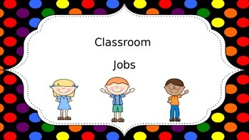 Class Jobs - Polka Dot