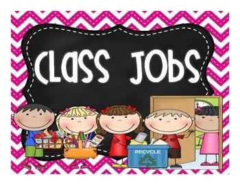 Class Jobs Poster FREEBIE