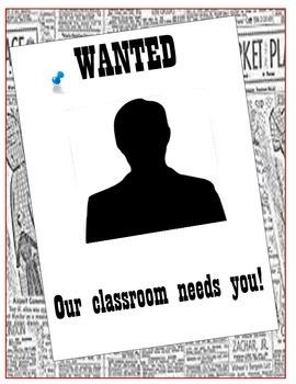 Class Jobs - Editable - Real life application STEM - PBL