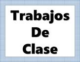 Class Jobs (Spanish)