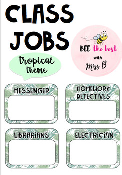 Class Jobs Tropical Theme