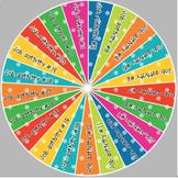 Class Jobs Wheel - Boho Birds Color Scheme - Editable - 21