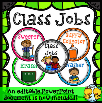 Class Jobs (White Backgrounds)