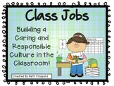 Class Jobs for Primary *36 jobs PLUS written out descriptions