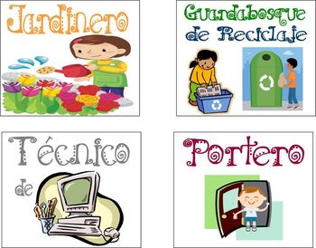 Class Jobs in Spanish