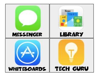 Class Jobs - ipad app style