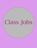Class Jobs with Circular Design