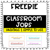 Class Jobs with Hashtags & Description