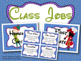 Class Jobs with Header and Descriptions - Peter Pan