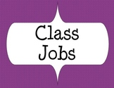 Class Jobs with Purple design