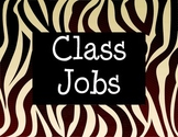 Class Jobs with Zebra Design