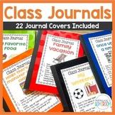 Class Journals