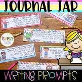 #loveliteracy Journal Jar Writing Prompts for Kids!