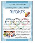 Class Journal Topics