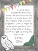 Class Journal Woodland Theme: Ollie the Owl