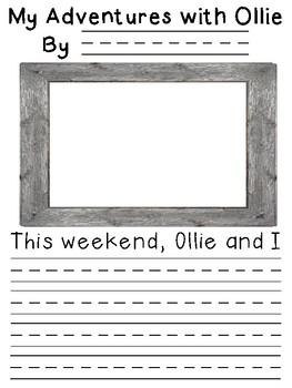 Class Journal Woodland Theme: Ollie the Owl