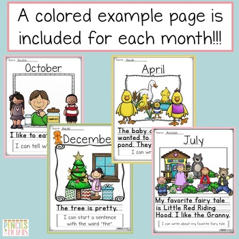 Whole Class Journal -Motivate Students & Improve Writing Skills - PreK and K