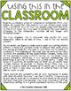 March Class Journals