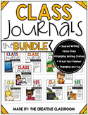 Class Journals BUNDLE