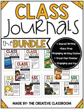 Class Journals BUNDLE