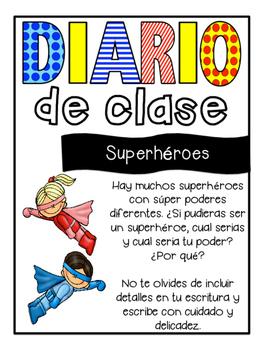 Class Journals- Spanish