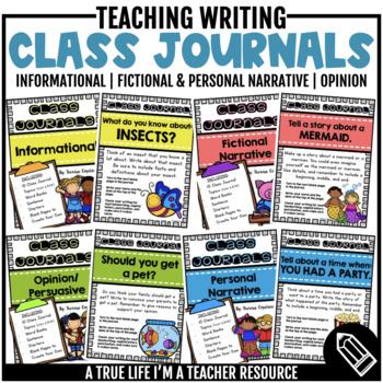 Class Journals {The Bundle}