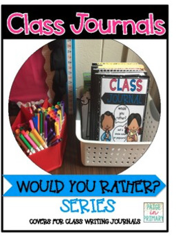 Class Journals for Creative Writers