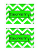 Class Labels - Geometry (Green)