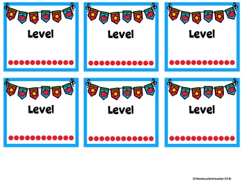 Target Adhesive Pockets Class Library Labels **Editable** FREE