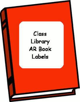 Class Library AR Book Labels