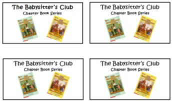 Class Library Book Basket Labels