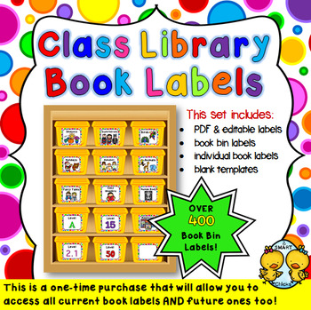 Class Library Book Labels