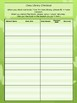 Class Library Checkout Sheet - Butterfly Theme - 2 Styles