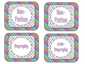 Class Library Genre Labels