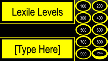 Class Library Labels - Bee Theme Colors (Black & Gold)