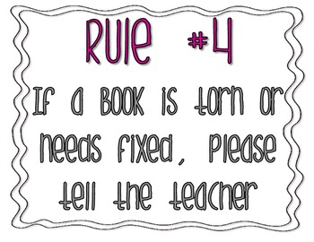 Class Library Rules