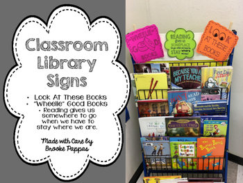 Class Library Signs