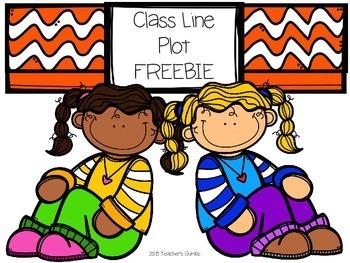 Class Line Plot FREEBIE