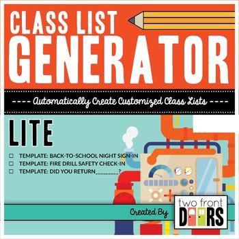 Class List Generator by Primary Prism   Teachers Pay Teachers