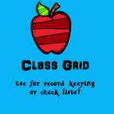 Class List (Blank)