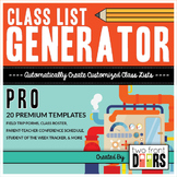 Class List Generator PRO