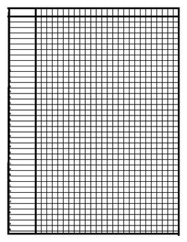 Class List Grid (39 spaces)