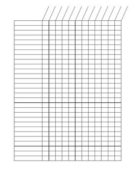 Class List Grid