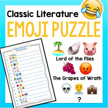 Classic Literature Emoji Puzzle