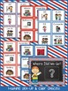 Class Location Board - Stars and Stripes Theme {Red, White